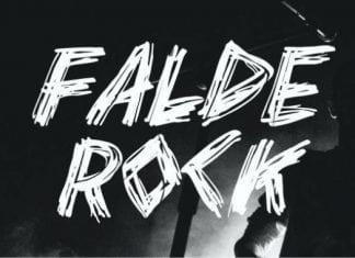 Falde Rock Font