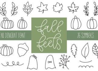 Fall Feels Font