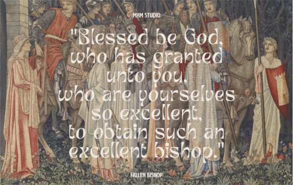 Fallen Bishop Font