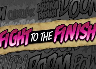 Fight to the Finish BB Font