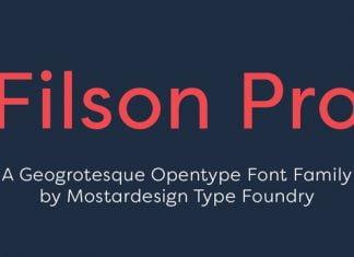 Filson Pro Font Family
