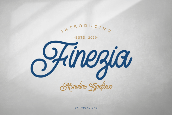 Finezia Font