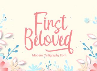 First Beloved Font
