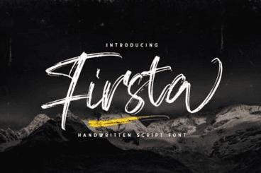 Firsta Font