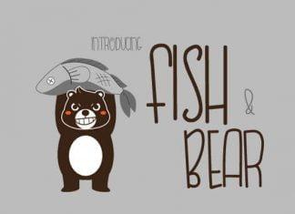 Fish-Bear Font