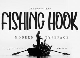 Fishing Hook Font