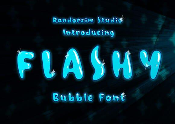 Flashy Font