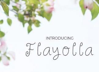 Flayolla Font