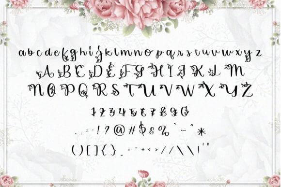 Florishy Font