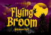 Flying Broom Font
