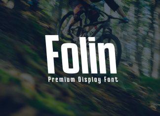 Folin - Display Font
