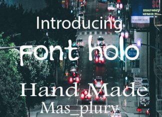 Font Holo