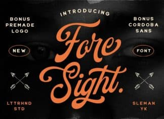 Foresight Font