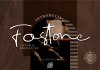Fostone Natural Signature Font