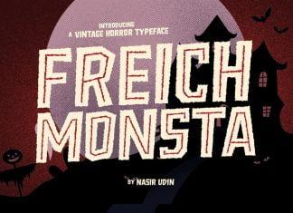 Freich Monsta Font