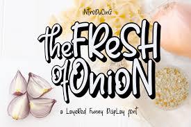 Fresh Onion Font