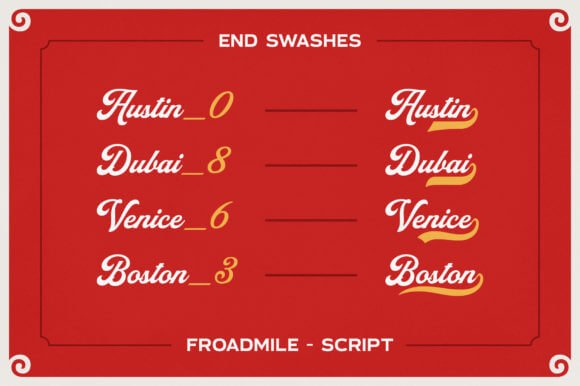 Froadmile Font