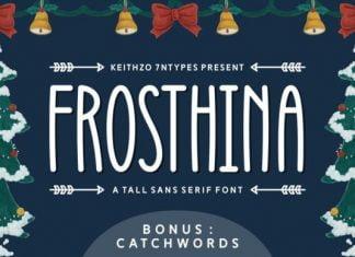 Frosthina Font