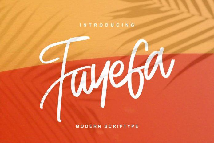 Fuyefa Modern Scriptype