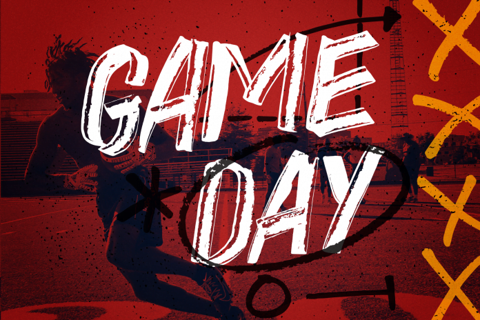 Game Day - A Sports Themed Hand Drawn Font