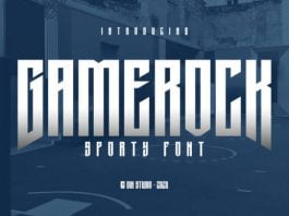 Gamerock Font