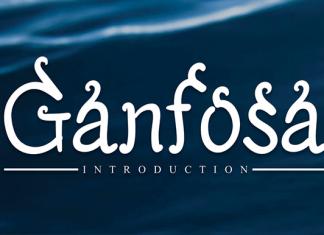 Ganfosa Font