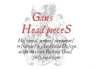 Gans Headpieces Font