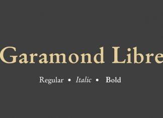 Garamond Libre Font