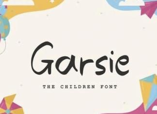 Garsie - The Children Font