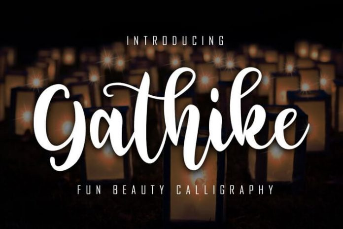 Gathike Fun Beauty Calligraphy