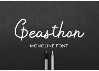 Geasthon Font
