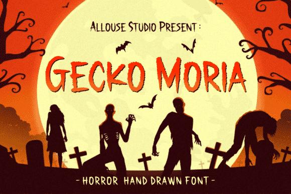 Gecko Moria Font