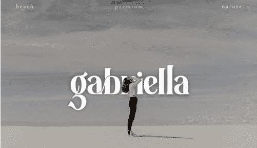 Gentha - Serif Font