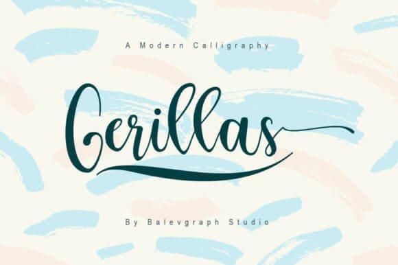 Gerillas Font
