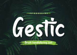 Gestic Font