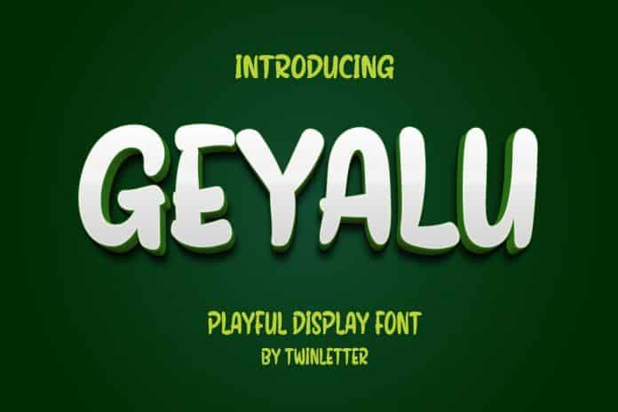 Geyalu Font