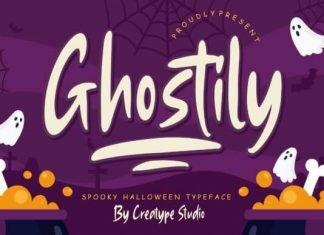 Ghostily Font