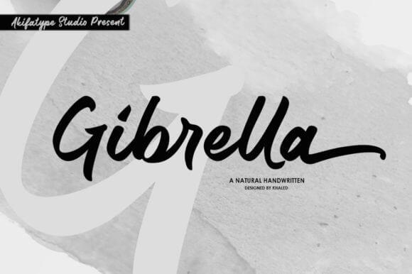 Gibrella Font