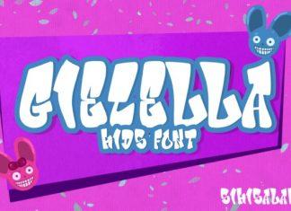 Giecella Kids Font
