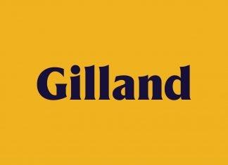 Gilland Free Font