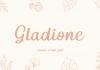 Gladione Font