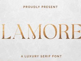 Glamorez Font Family