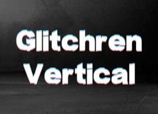 Glitchren Vertical Font