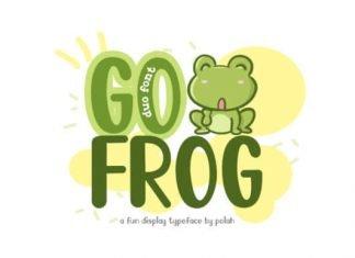 Go Frog Font