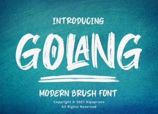 Golang Font