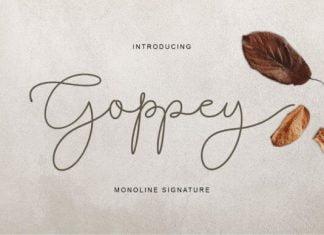 Goppey Font