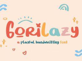 Gorilazy Font
