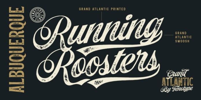 Grand Atlantic Font Family