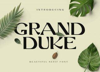 Grand Duke Beautiful Serif Font