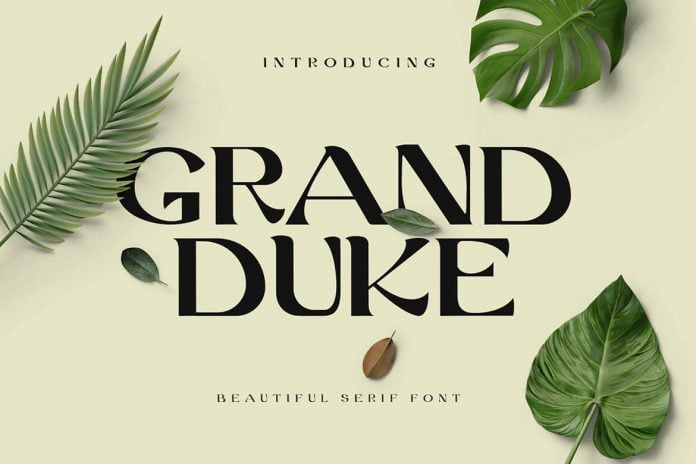 Grand Duke Beautiful Serif Font